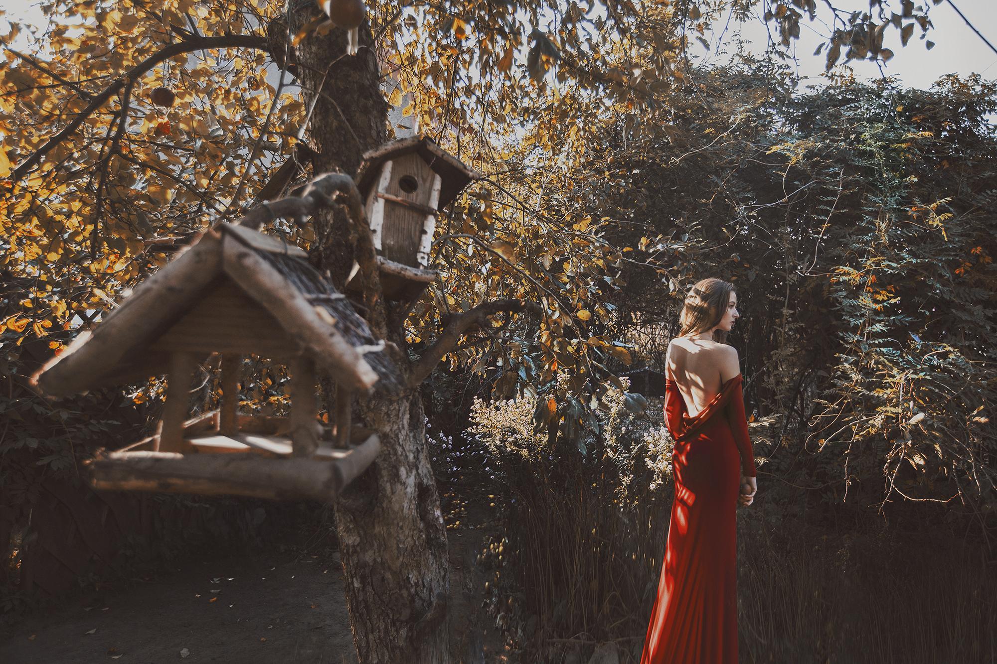 czerwona sukienka1 m