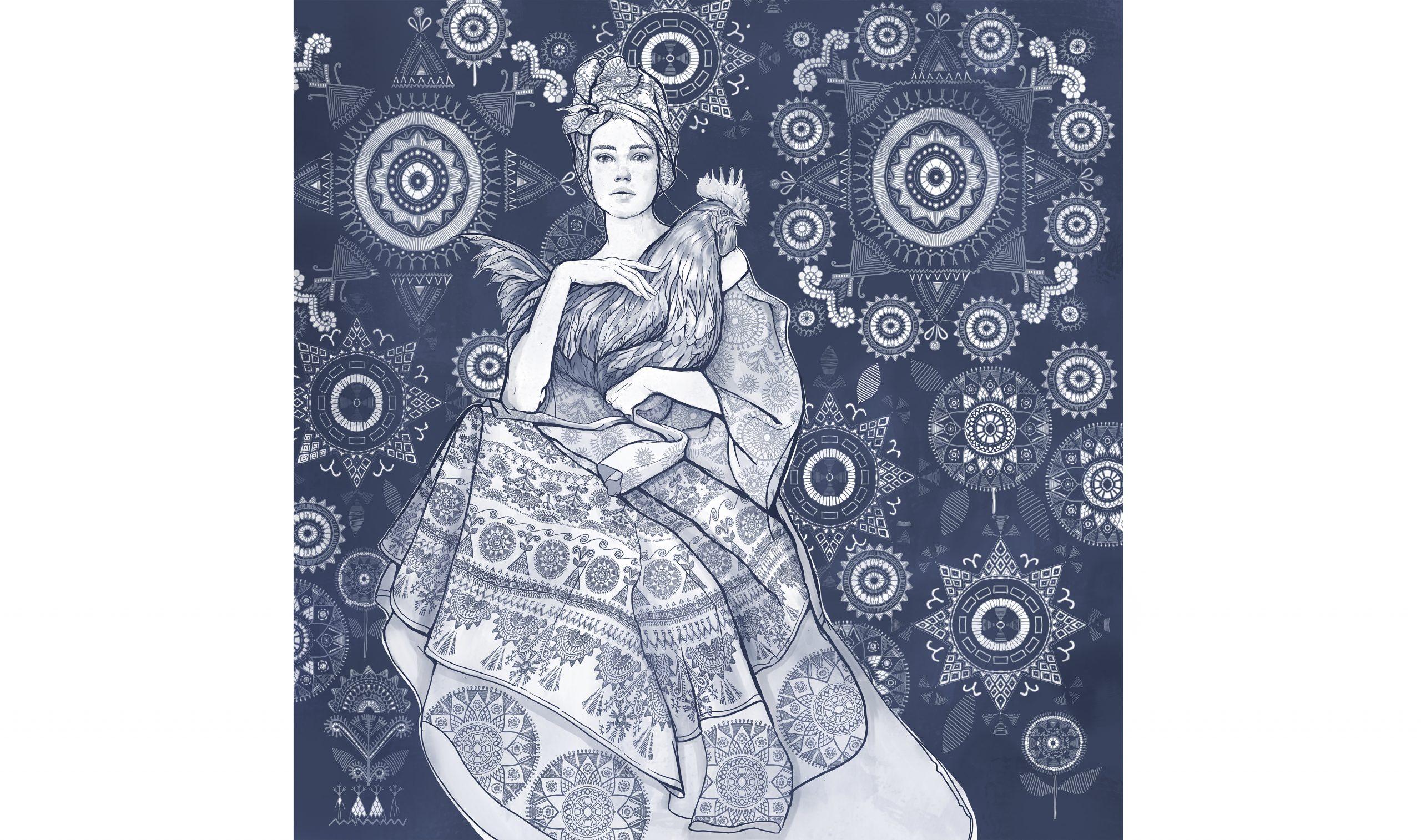 Poster mockup illustration